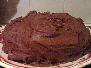Mega gateau chocolat