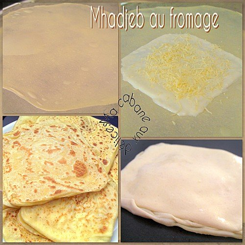 Mhadjeb au fromage photo 1
