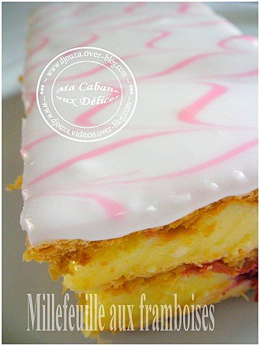 Millefeuille aux framboises 002