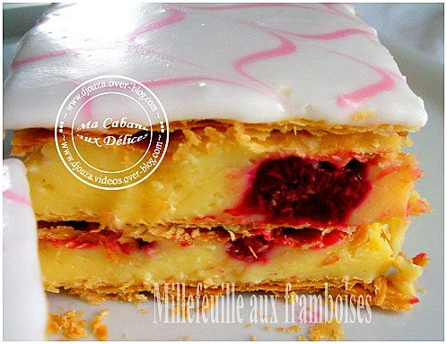 Millefeuille aux framboises 005