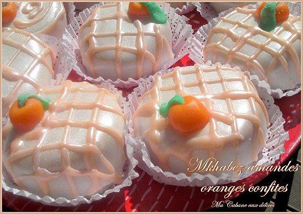 Gâteau Mkhabez à l'orange