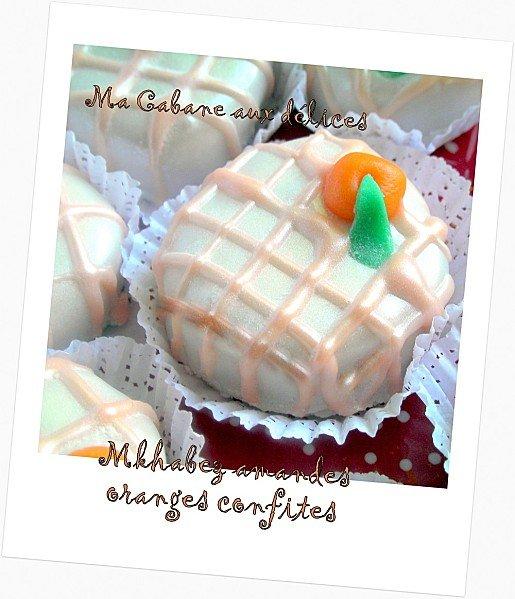 Mkhabez amandes oranges confites photo 4