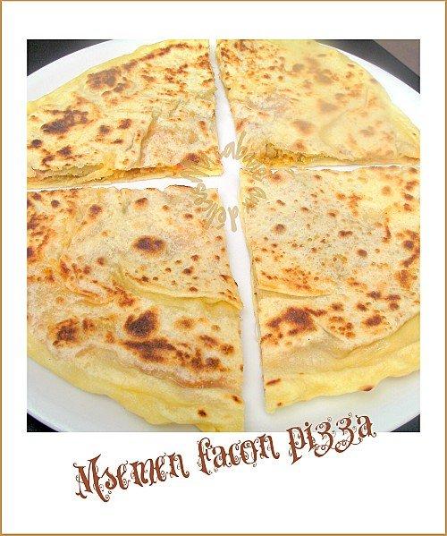 Msemen pizza photo 3