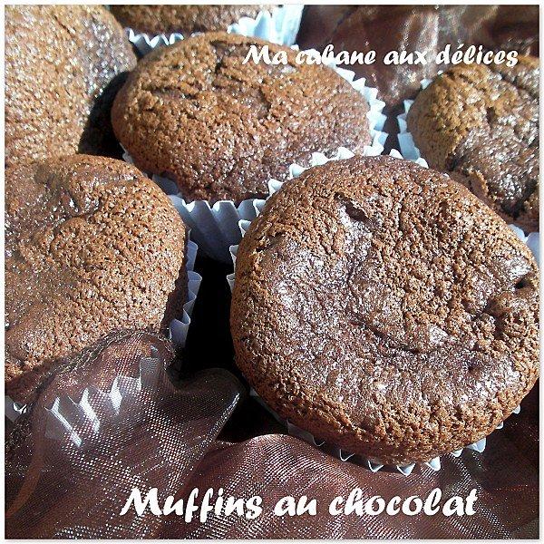 Muffins au chocolat photo 1
