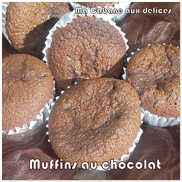 Muffins chocolat au babeurre