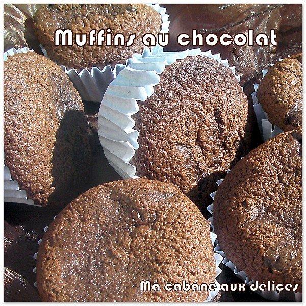 Muffin au chocolat et babeurre