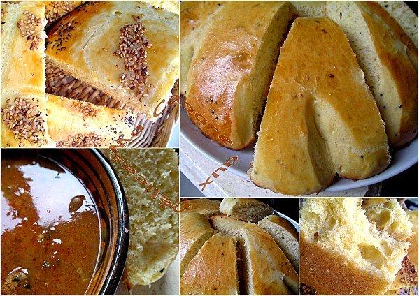 pain algérien sans farine