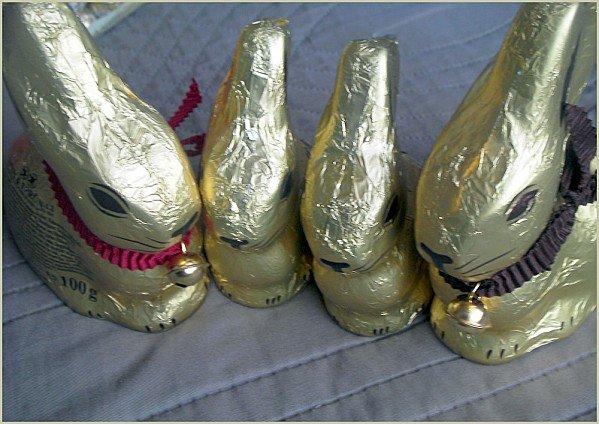 Lindt chocolat de paques