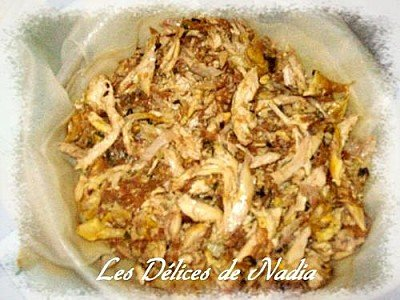 Pastilla marocaine au poulet et amandes
