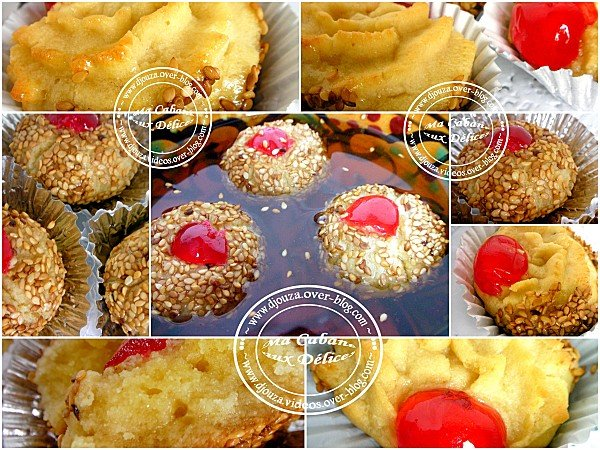 Petits fours montage
