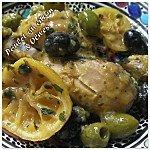 Poulet au citron et olives photo 1