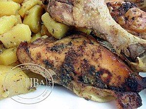 poulet en sac cuisson