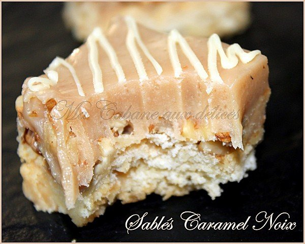 Sables caramel noix photo 3