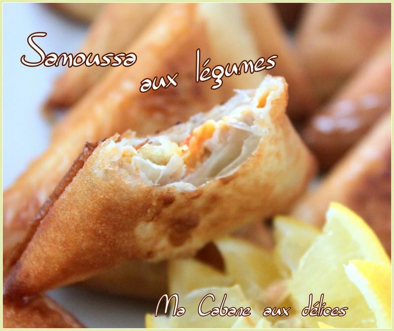 Samossa aux legumes pate phyllo