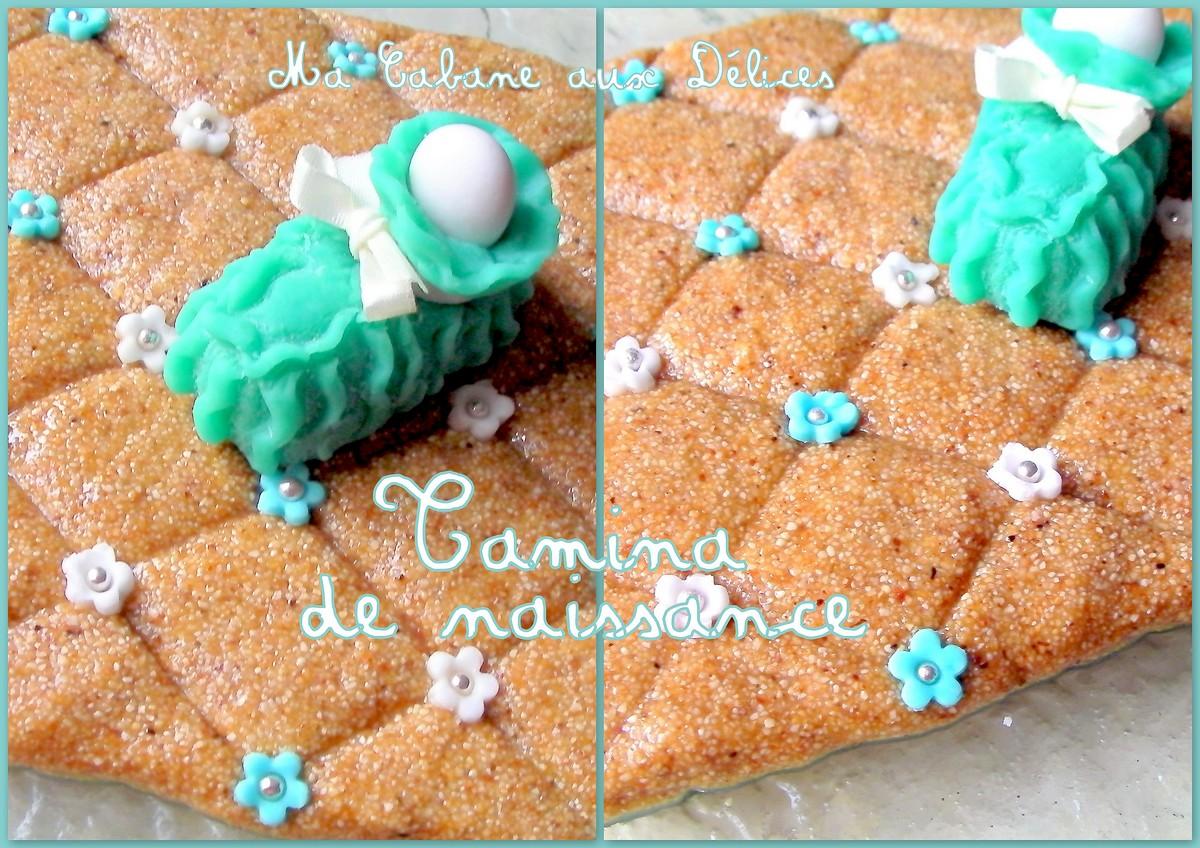 Recette tamina de naissance sboh recettes faciles - Decoration gateau traditionnel algerien ...