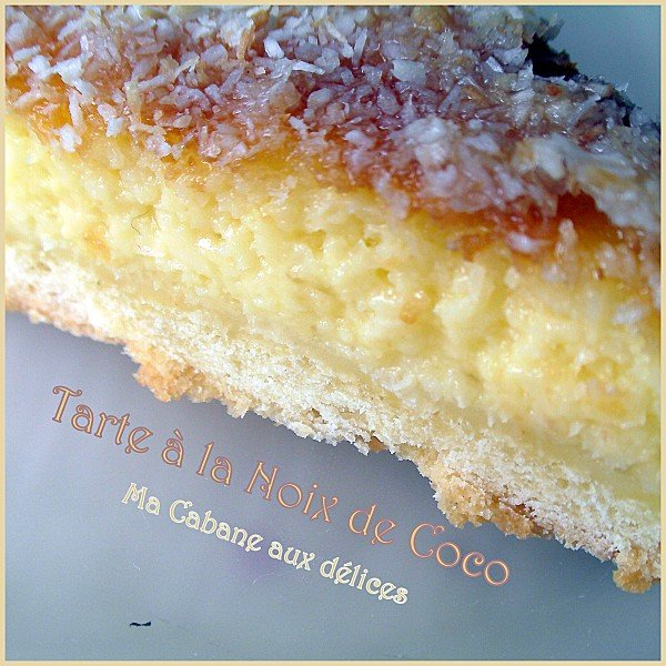 Tarte a la noix de coco photo 3
