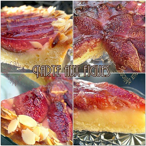 Tarte aux figues photo 4