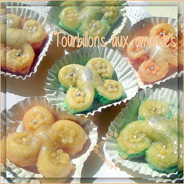 Tourbillons aux amandes photo 4