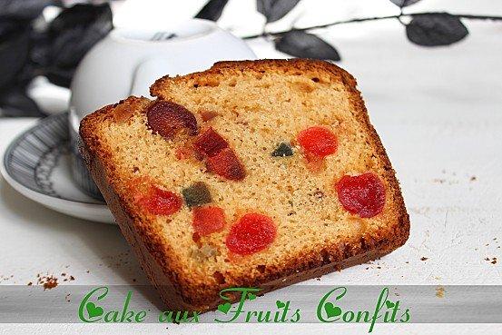 cake au fruits confits mes recettes testées