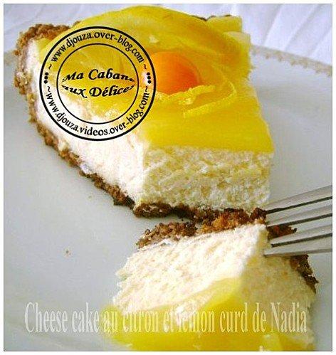 Recette de cheesecake gourmand au citron