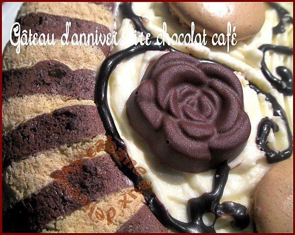 gateau d'anniversaire chocolat café 025