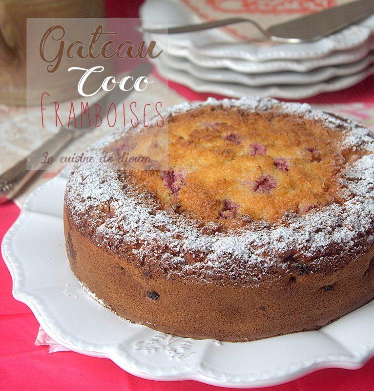 Recette Cake Sans Oeuf Framboises