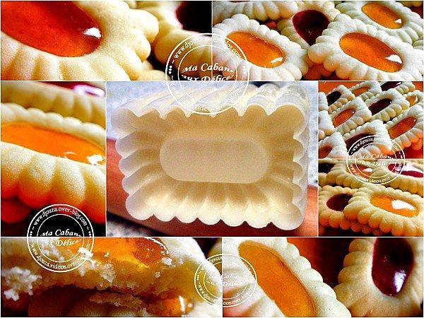 gâteaux confiture montage
