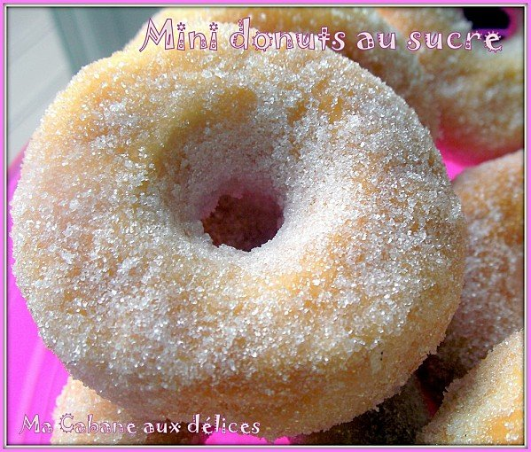mini donuts au sucre photo 2