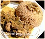 tajine poulet champignons boulgour 005