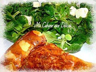 tarte salée tomates saumon