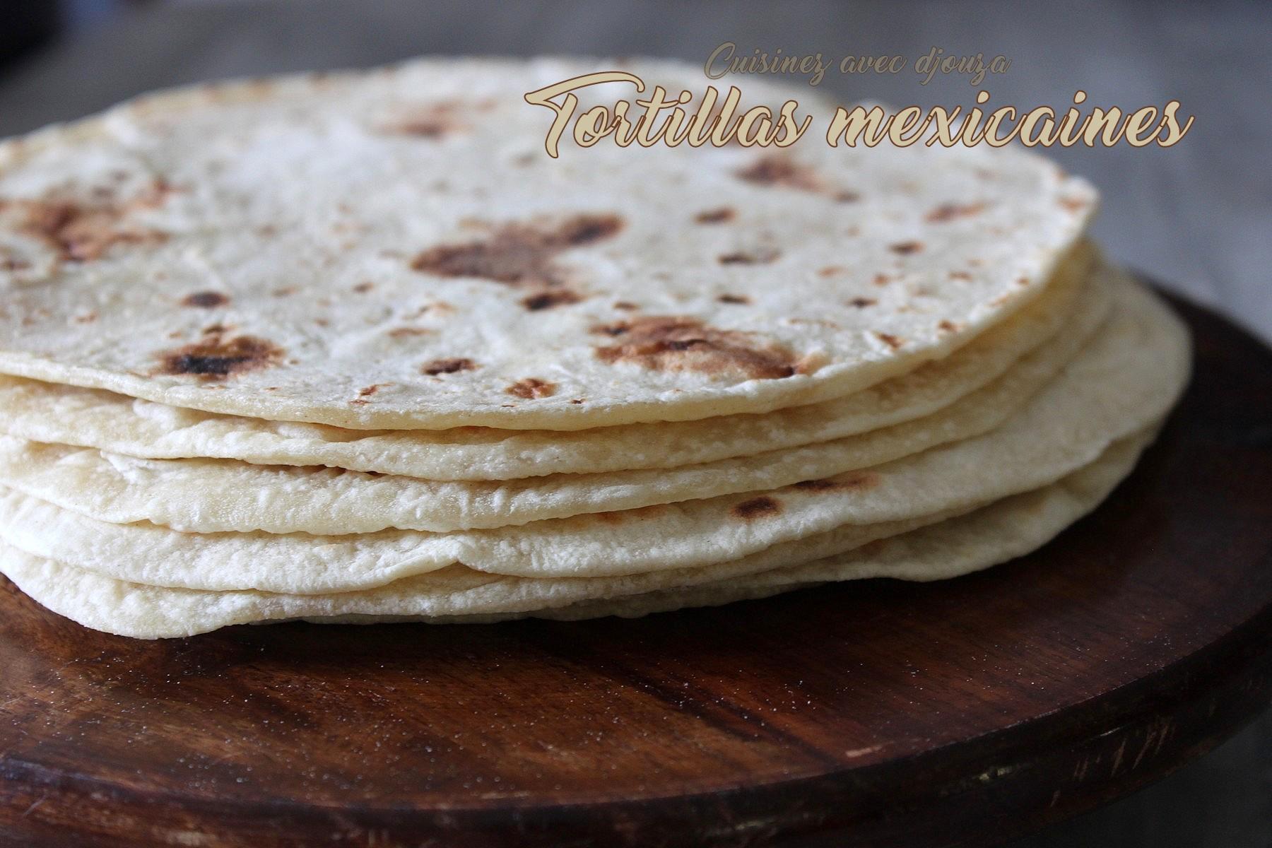 Pain mexicain tortilla