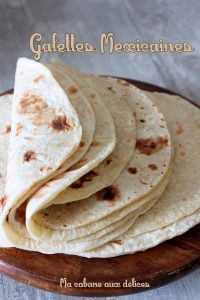 Tortillas mexicaines galette