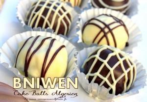 Bniwen cake ball algerien