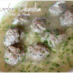 Chorba blanche algérienne boulette de viande