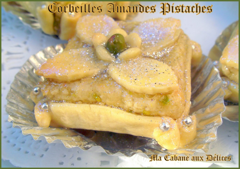 Corbeilles amandes pistaches photo 4