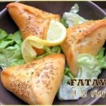 Fatayer viande hachee et legumes