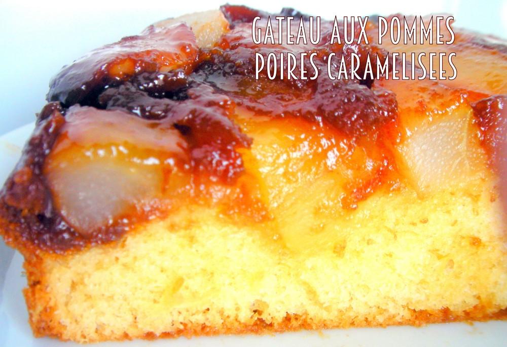 Cake Aux Pommes Et Caramel