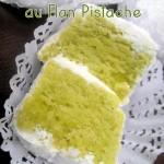 Makrout el louz au flan pistache