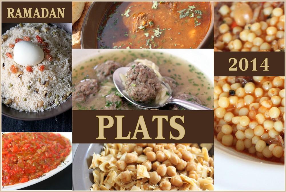 Ramadan 2014 / Plats agériens et orientaux