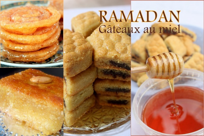 gateau au miel du ramadan 2015 recettes faciles recettes rapides de djouza. Black Bedroom Furniture Sets. Home Design Ideas