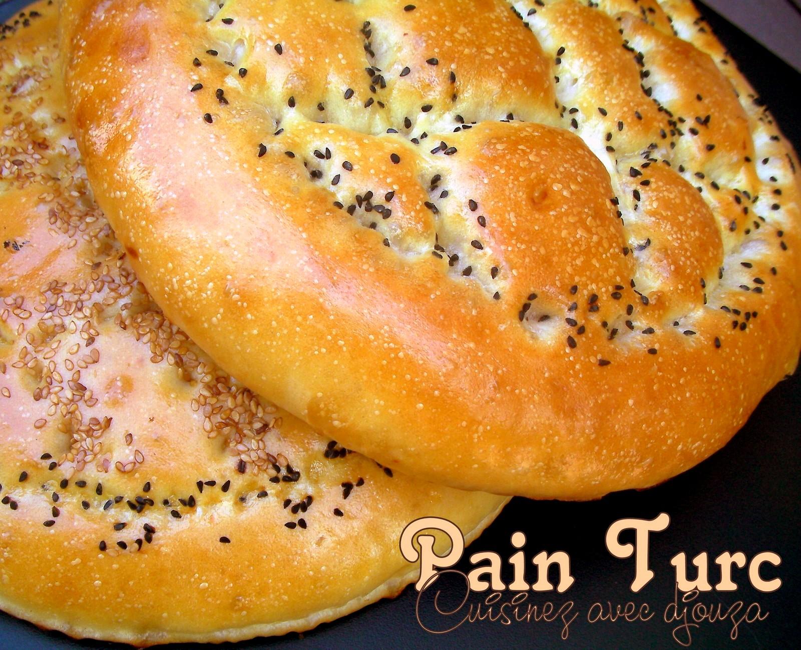 recette pain turc du ramadan pidesi