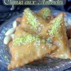 Samsa recette aux amandes pate maison