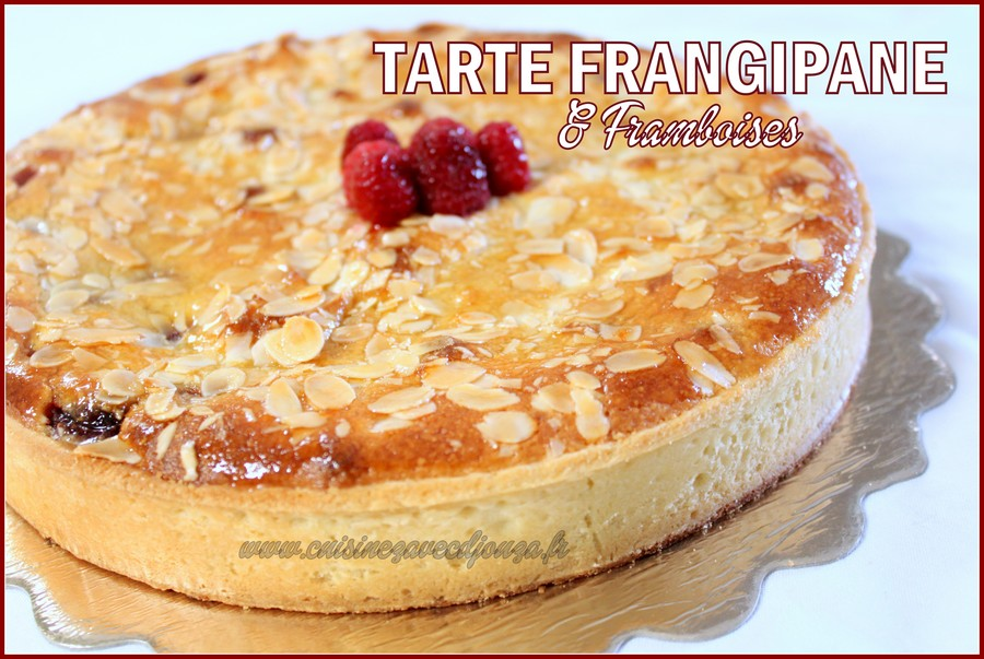tarte aux framboises creme frangipane amande recettes faciles recettes rapides de djouza. Black Bedroom Furniture Sets. Home Design Ideas