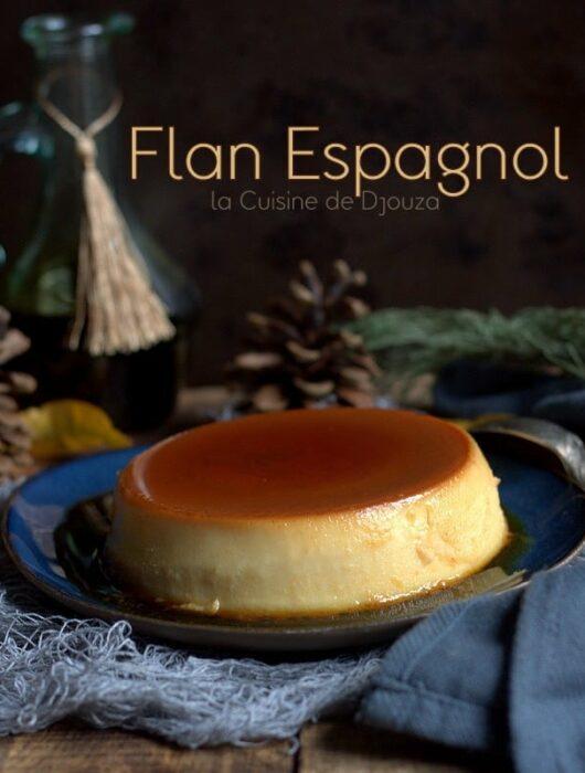 crème caramel espagnole