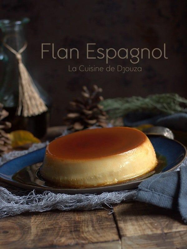 Flan espagnol au lait de coco