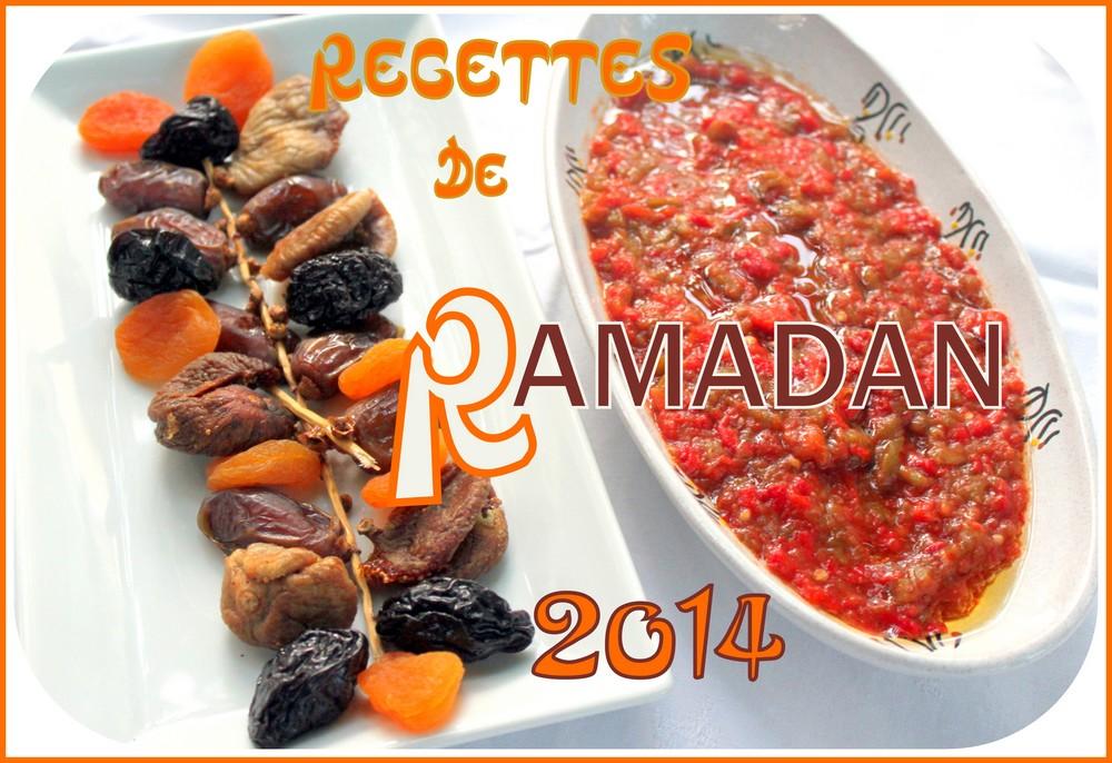 Recettes ramadan 2014