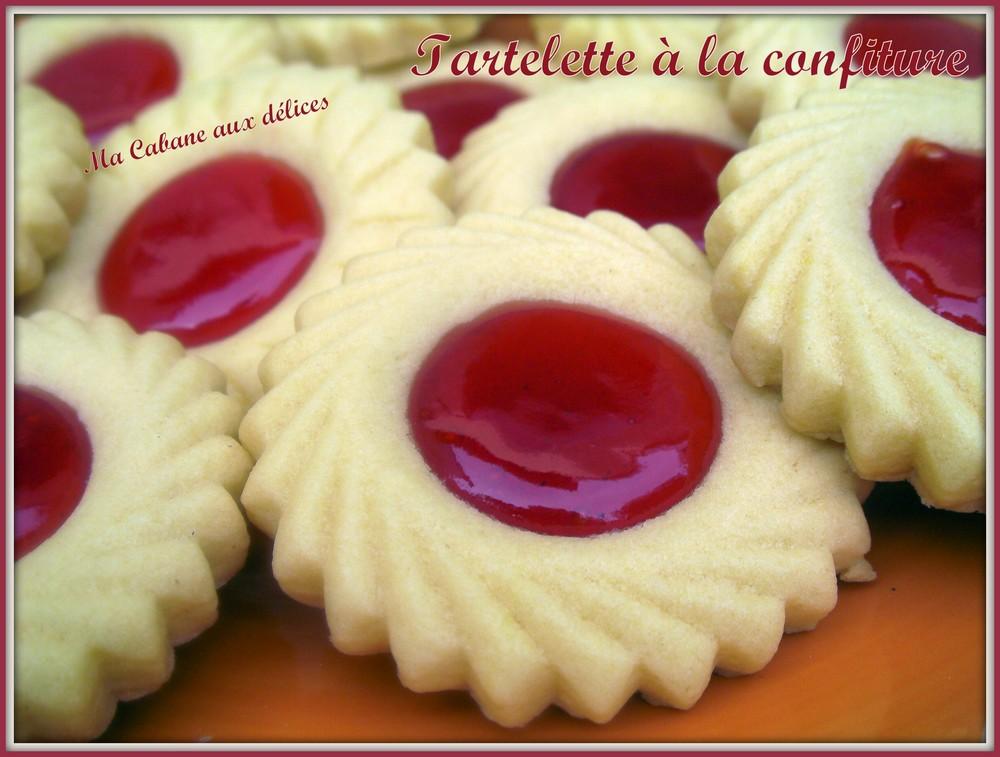 Tartelette sabl e fondante a la confiture recettes faciles recettes rapides de djouza - Recette sable confiture maizena ...