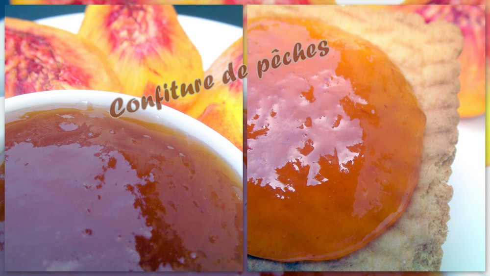 Confiture de peches