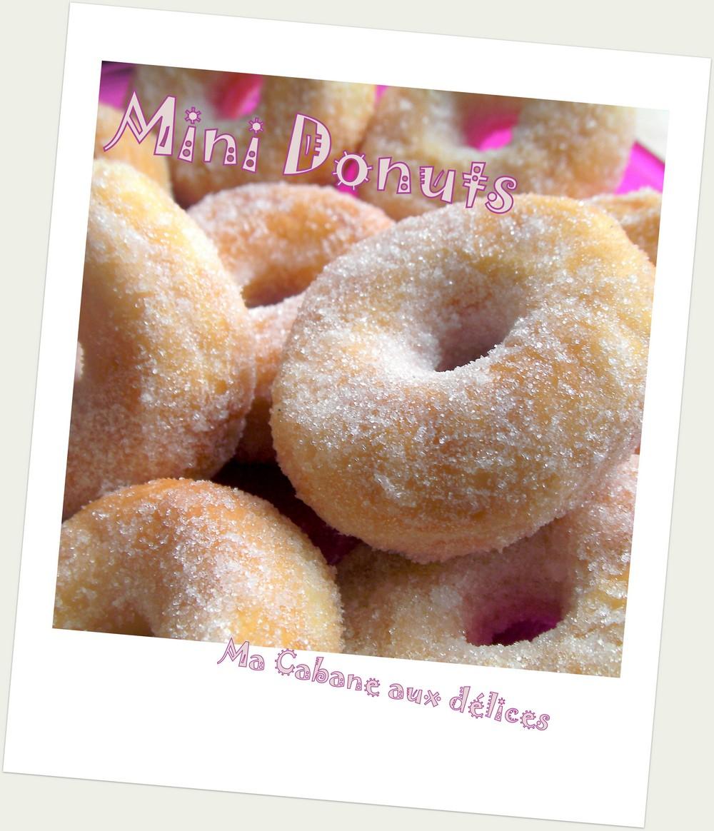 mini donuts au sucre
