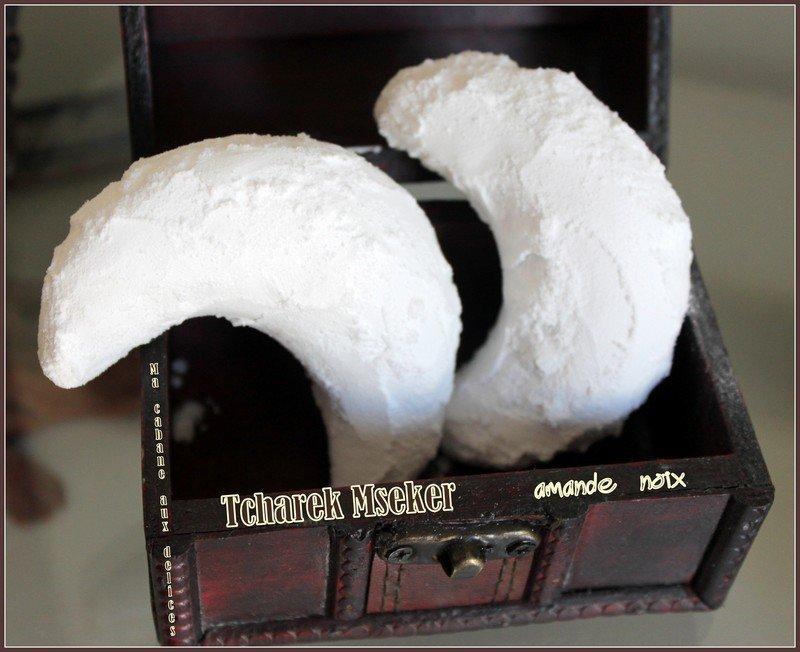 Tcharek mseker amandes noix